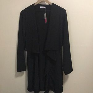 NWT drape front trench